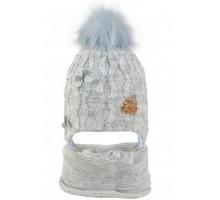 Комплект детский шапка+снуд RAT-20027 (изософт)