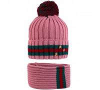 Комплект детский шапка+снуд ASA-20029/2 (изософт)