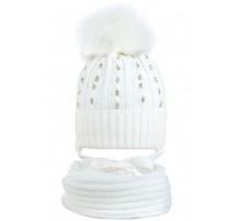 Комплект шапка+снуд MAD-20072 (изософт)