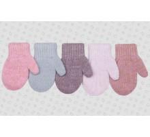 Варежки детские ТМ-354,двойные (1-2 года)