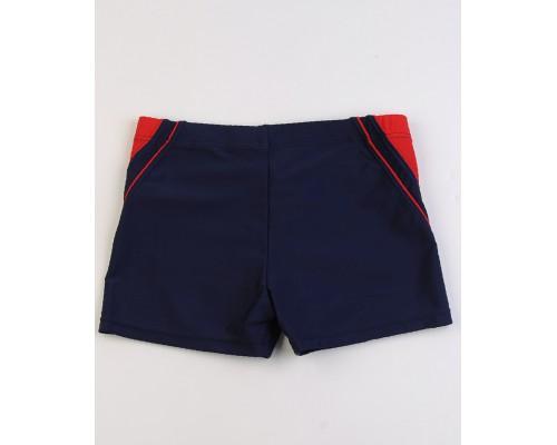 Шорты купальные для мальчика Polovi M419W/синий-красный